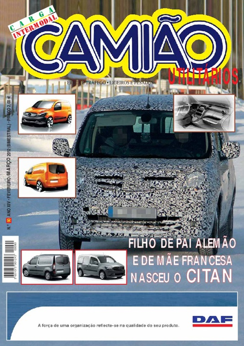 Revista Camião Janeiro 2012