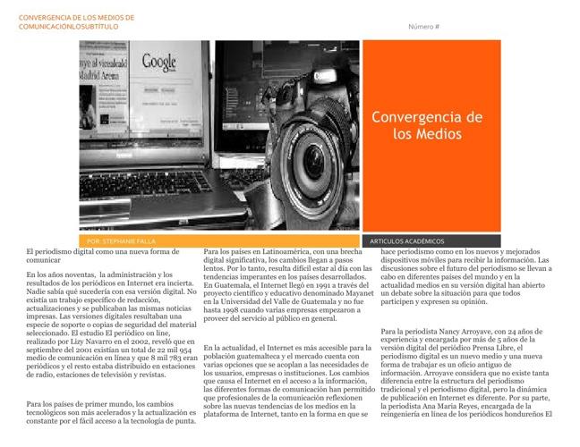 Periodismo y Nuevas Tecnologías
