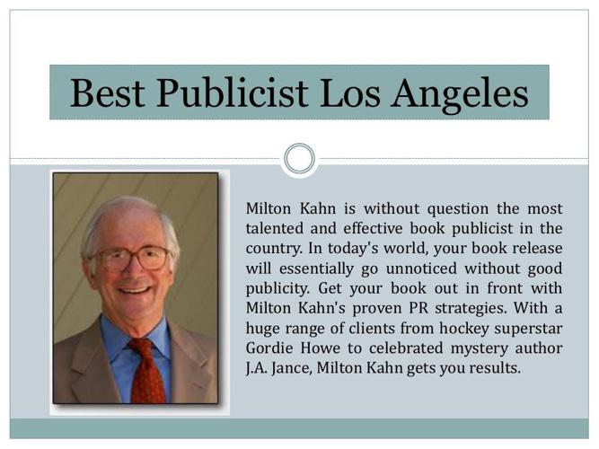 Best Publicist Los Angeles