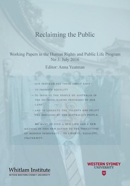 Reclaiming the Public