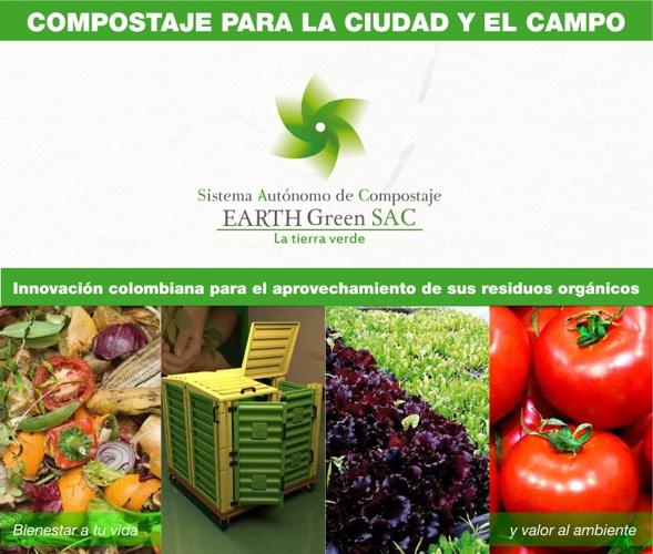 SISTEMAS DE COMPOSTAJE EARTH GREEN - COMO HACER ABONO FÁCIL