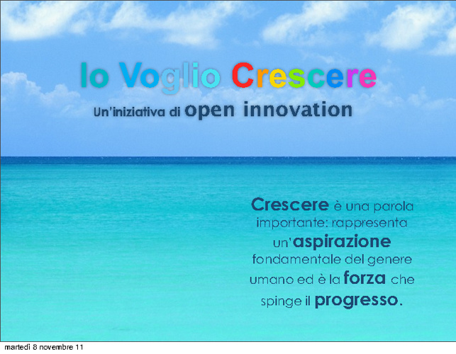 Presentazione Innovation Card