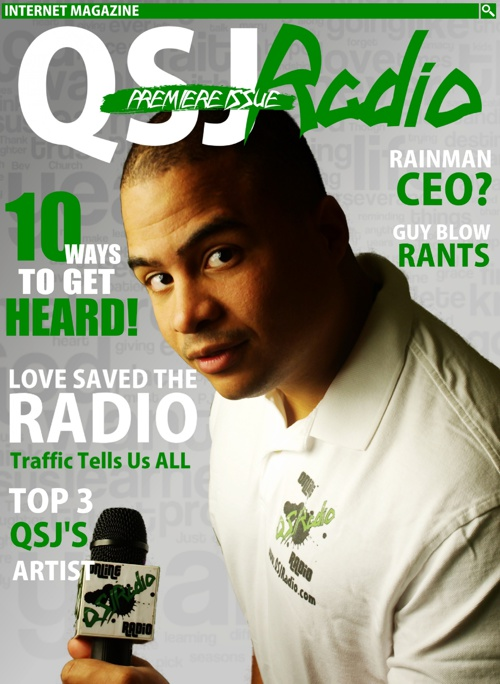 QSJ RADIO MAGAZINE FEB. 2013 ISSUE