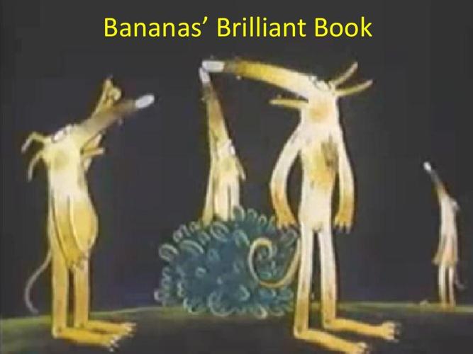 Banana's Brilliant Book final
