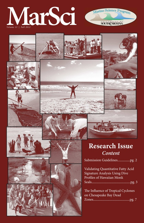 MarSci Research Issue 13, Fall 2012