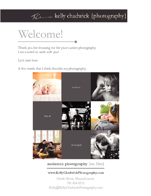 Welcome to Kelly Chadwick Photography