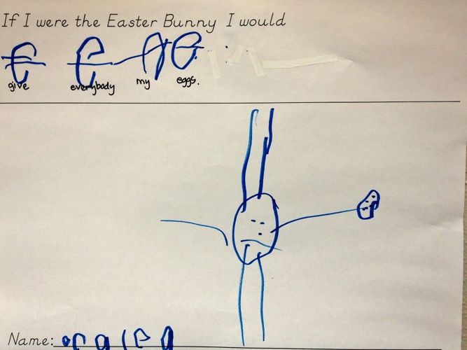If I Were the Easter Bunny- AM Class