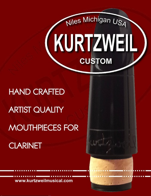 Kurtzweil Custom Mouthpieces Catalog 2013