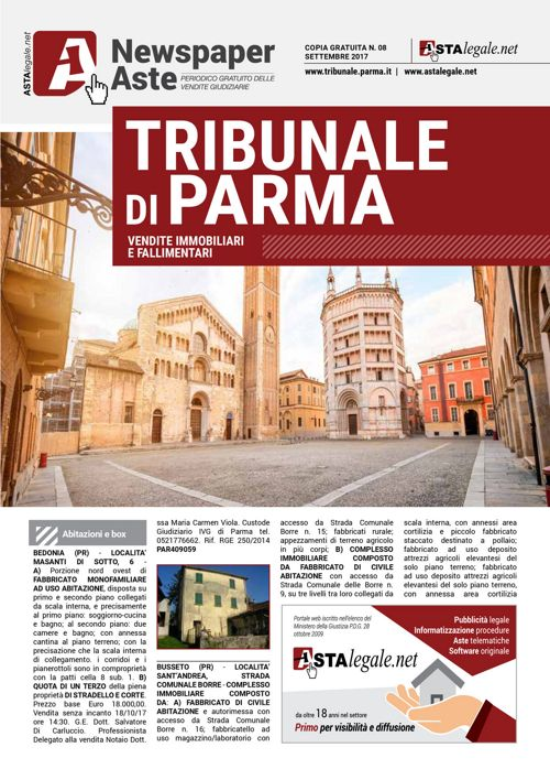 Parma settembre 2017