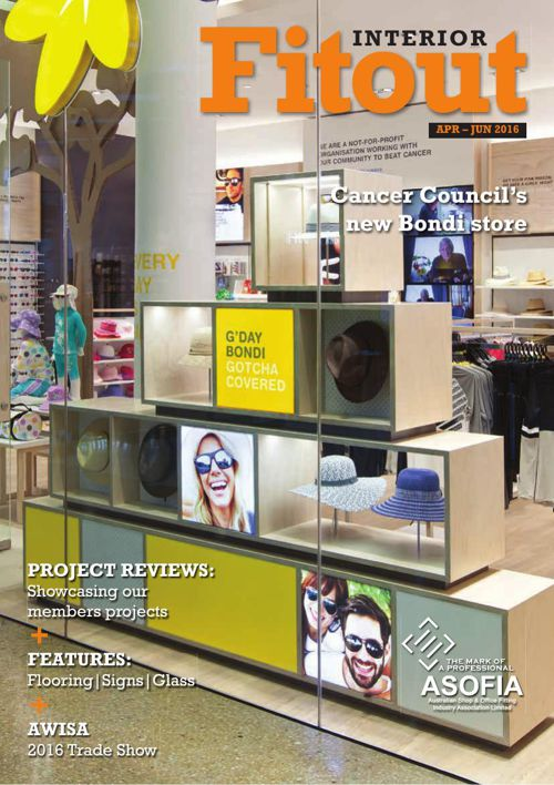 ASOFIA Interior Fitout April–June 2016