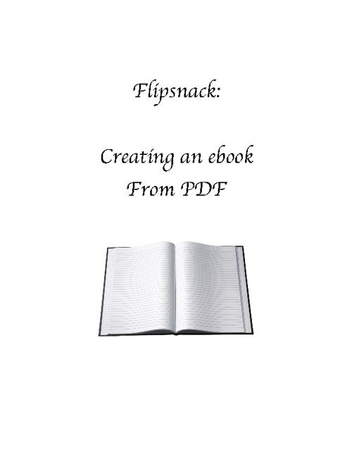 PDF to eBook