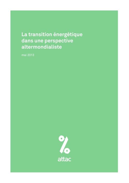 La transition énergétique dans une perspective altermondialiste
