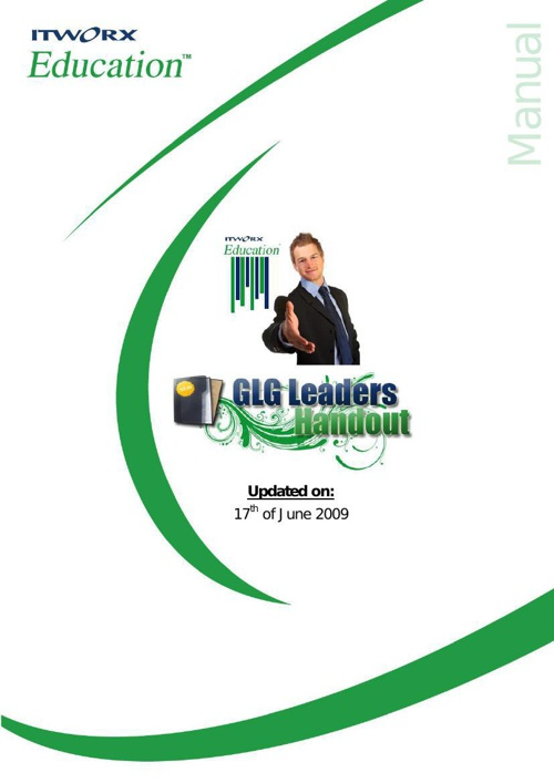 GLG Leaders Hand out