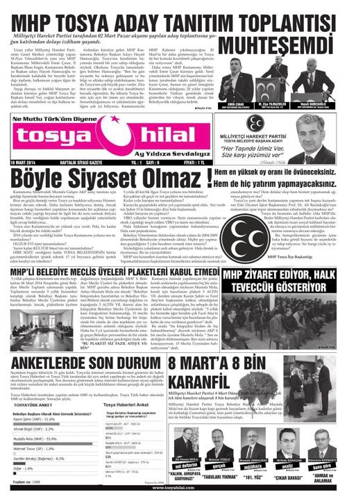 Tosya Hilal - 9.Sayı