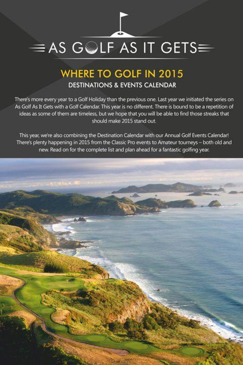 Golf Calendar Broc Online