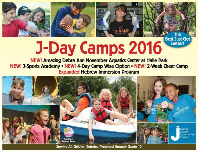 J-Day Camp Brochure 2016