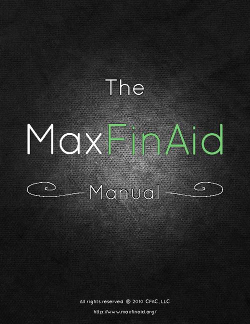 MaxFinAid