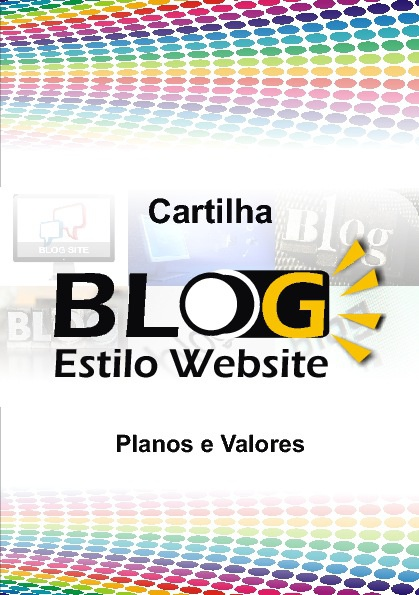 Cartilha Estilo Website