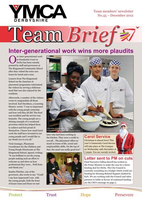 Team Brief - December 2012