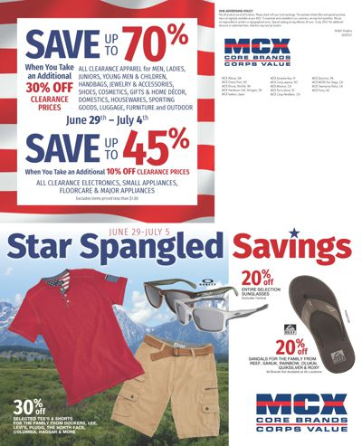 Star Spangled Savings 2016