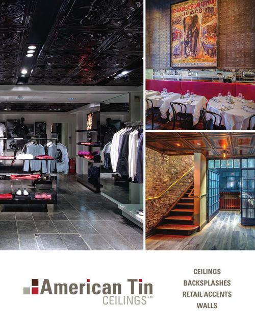 American Tin Ceilings Commercial Brochure