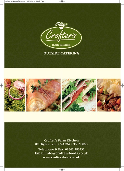Crofters Outside Catering Brochure
