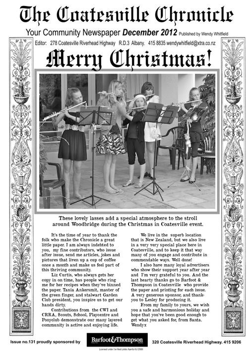 Coatesville Chronicle December 2013