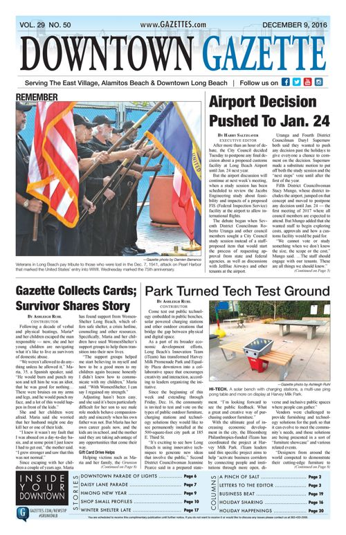 Downtown Gazette  |  December 9, 2016