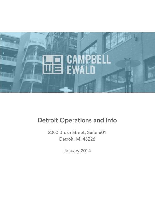 LCE Detroit Employee Handbook