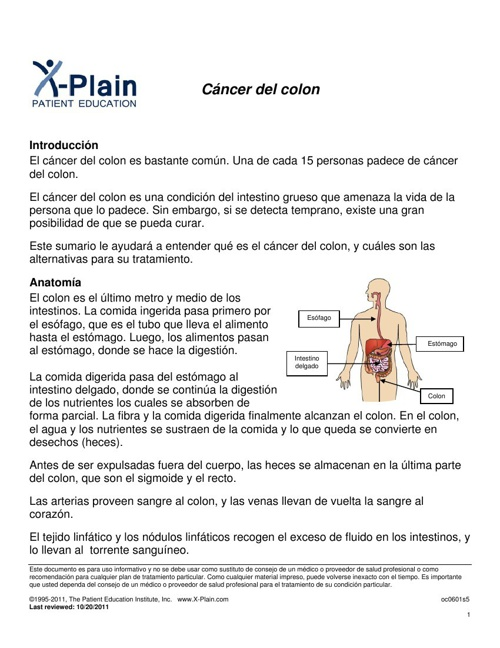 COMO PREVENIMOS EL CANCER DE COLON