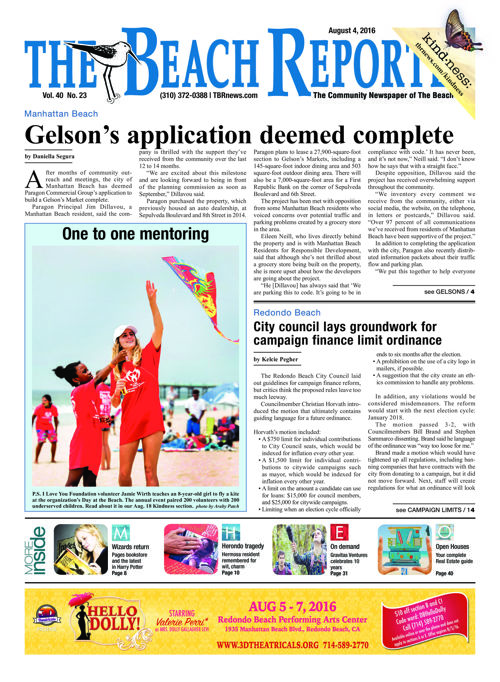 The Beach Reporter | August 4, 2016