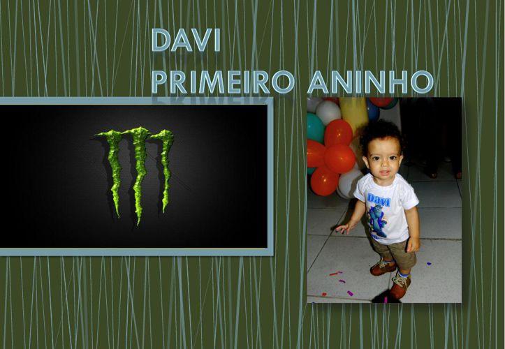 Albúm de Davi  Primeiro Aniversário