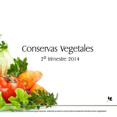 Conservas Vegetales 2014