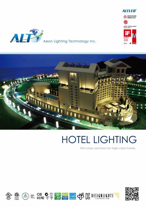 ALTLED Hotel Lighting Brochure