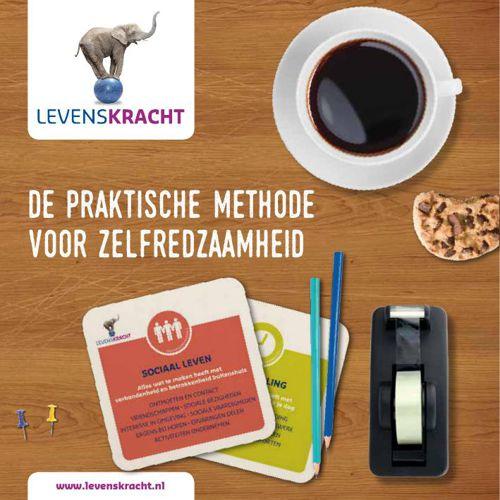 """Levenskracht brochure """"De praktische methode voor zelfredzaamhei"""