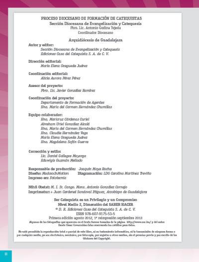 Formación Catequistas - Medio 2 - Saber Hacer – Catequista