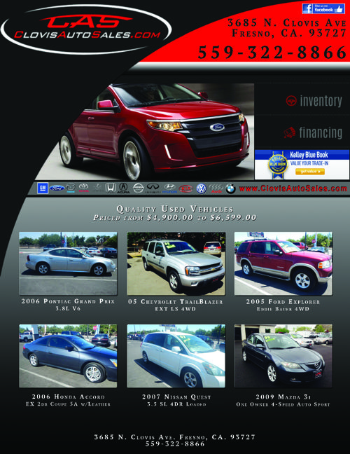 Dependable Pre-Owned Vehicles in Fresno California