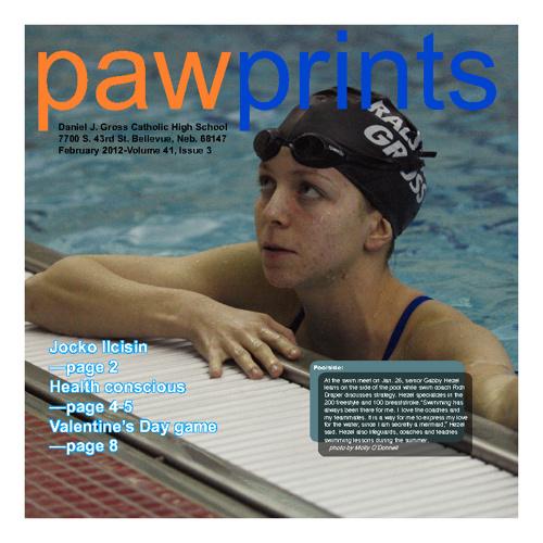 Paw Prints Feb 2012