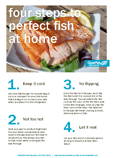 CleanFish Cookbook