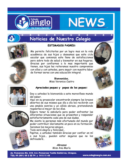 ANGLO NEWS SEP - OCT