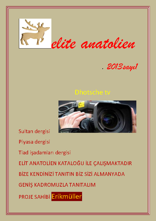 elite anatolien