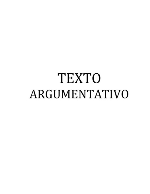FLIPSNACK Texto Argumentativo 1