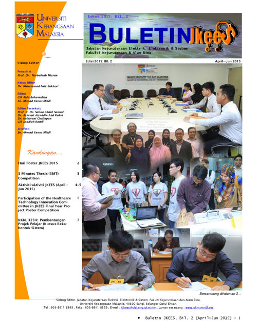 Buletin April - June 2015