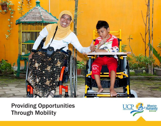 UCP Wheels for Humanity - Indonesia