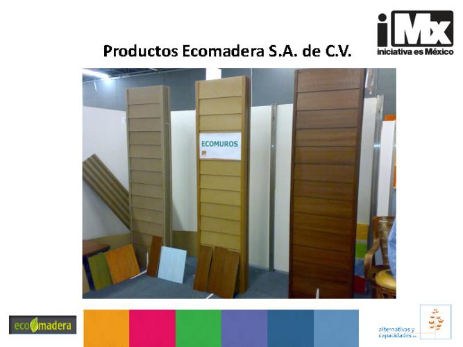 Productos Ecomadera S.A. de C.V.