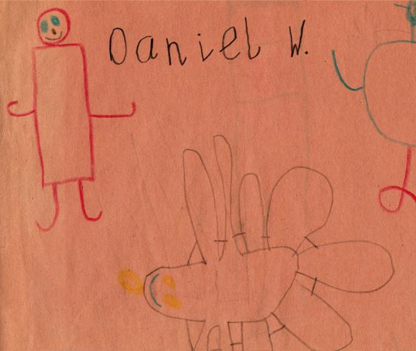 Daniel J Weatheritt's Childhood Sketchbook