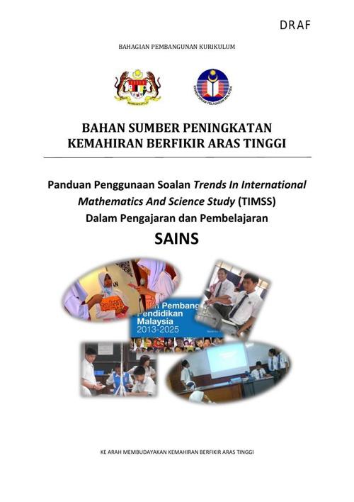Copy of Bahan Sumber - DRAF Panduan Peningkatan KBAT Sains melal