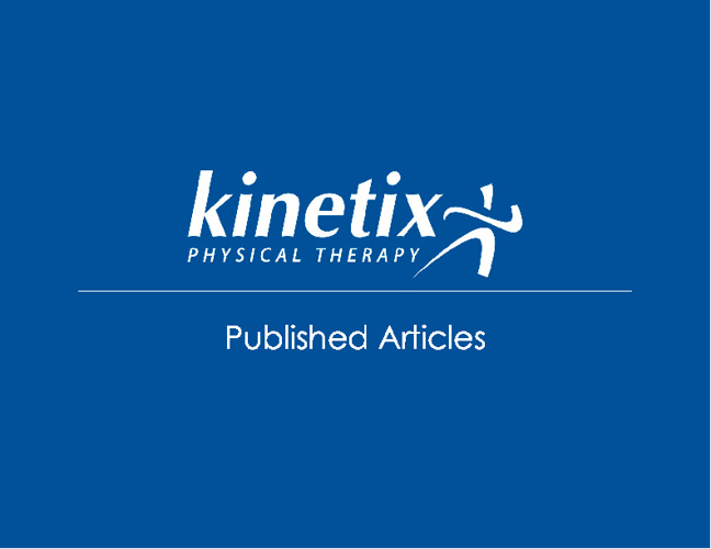 Kinetix Articles
