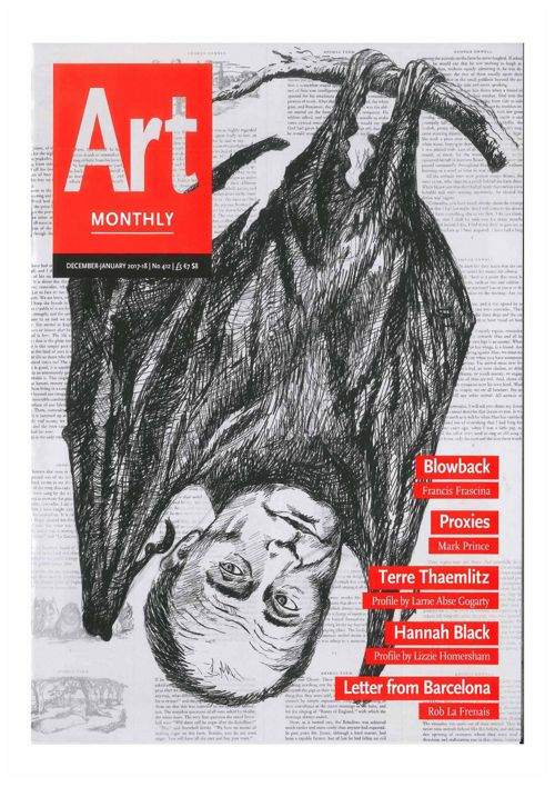 Art Monthly, December-January 2017-2018