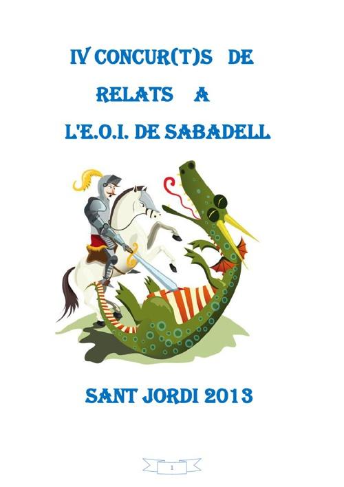 Fotos premiats guardonats EOI Sabadell(Sant Jordi 2013)